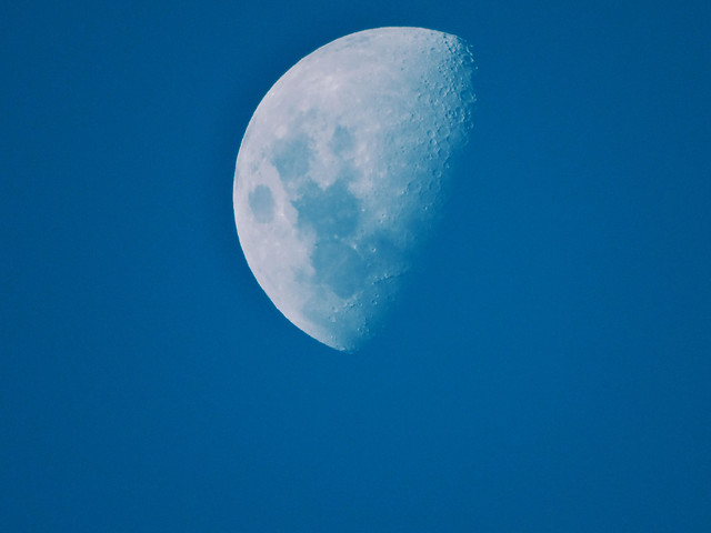 sky-moon-no-person-blue-daytime picture material