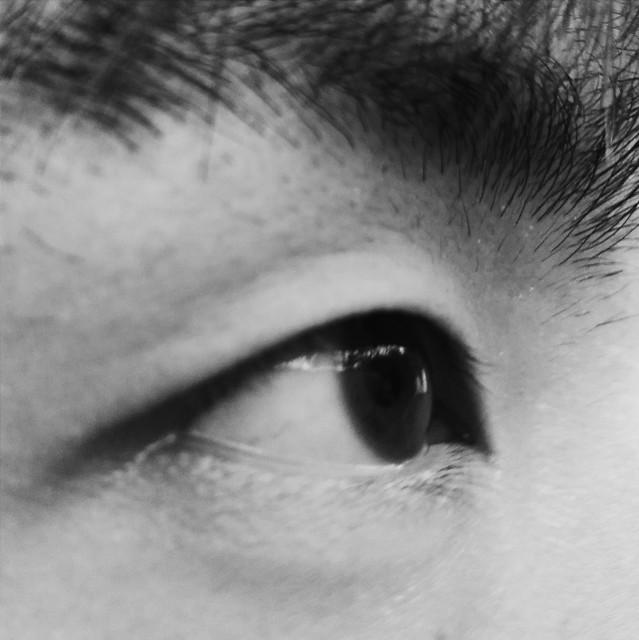 eyeball-people-monochrome-eyesight-portrait 图片素材