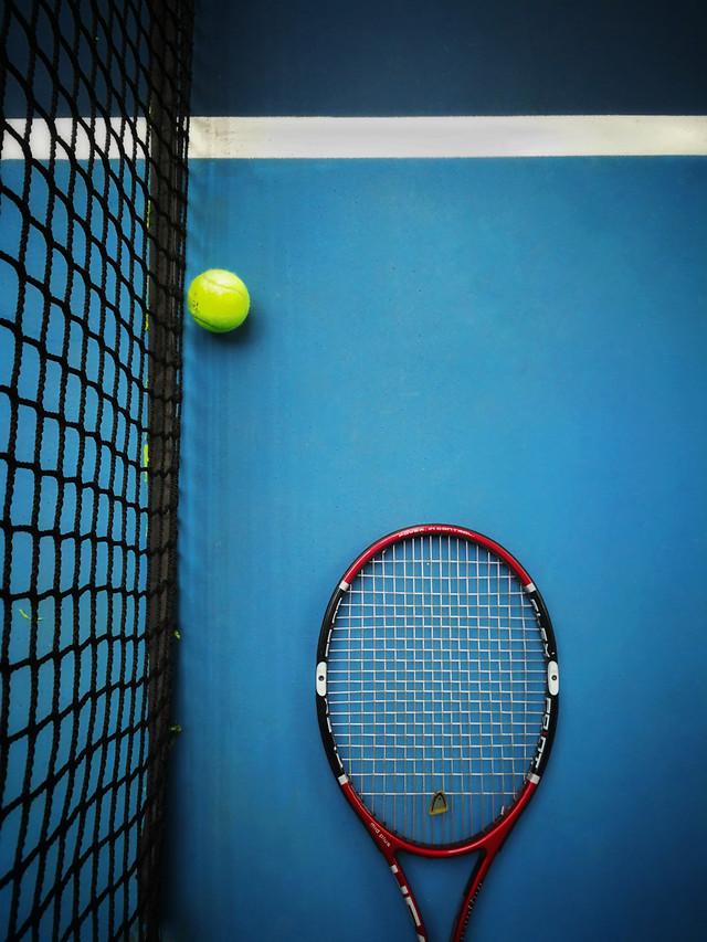 网球 picture material