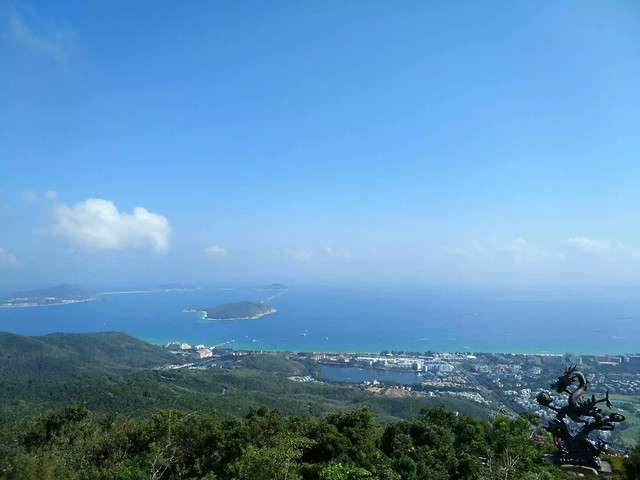 landscape-sky-travel-mountain-sea picture material