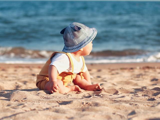 beach-sea-sand-water-ocean picture material