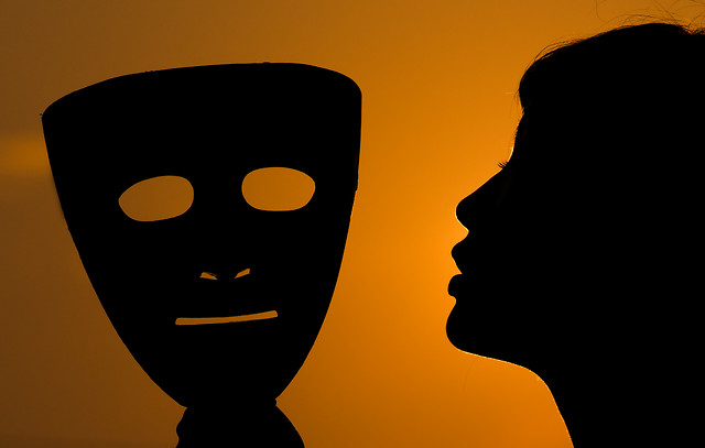 silhouette-head-people-profile-face picture material