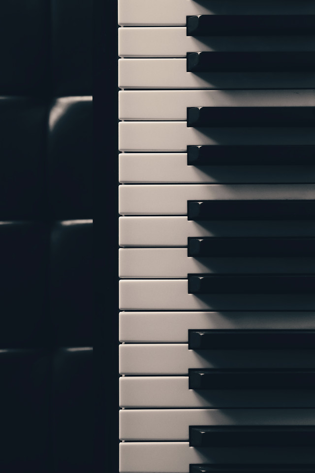 piano-instrument-no-person-music-ivory picture material