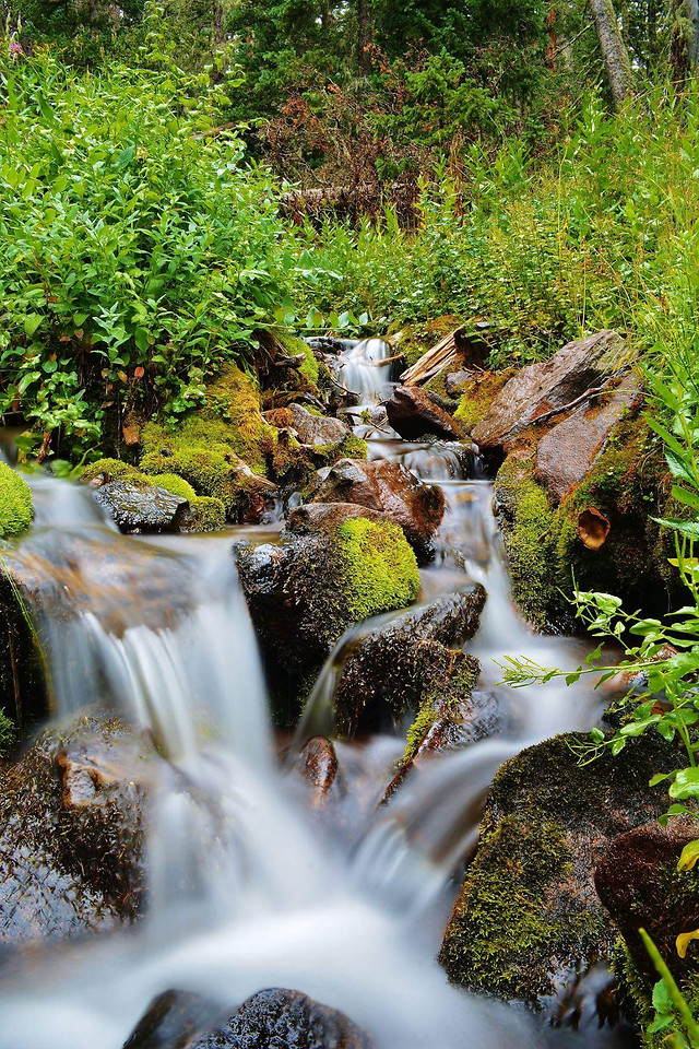 waterfall-water-nature-stream-river picture material