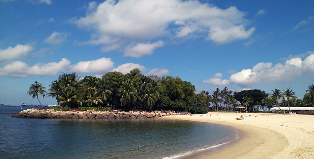 新加坡圣淘沙-sentosa-island picture material