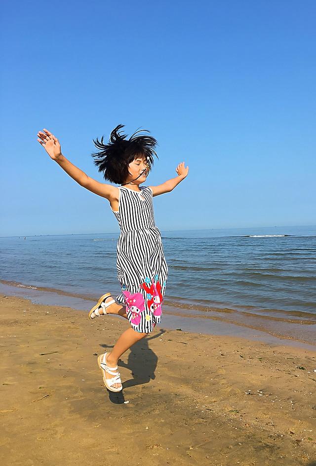 beach-water-sea-fun-sand picture material