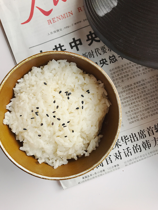 no-person-steamed-rice-white-rice-rice-traditional picture material