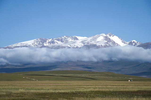 snow-no-person-mountain-grassland-travel picture material