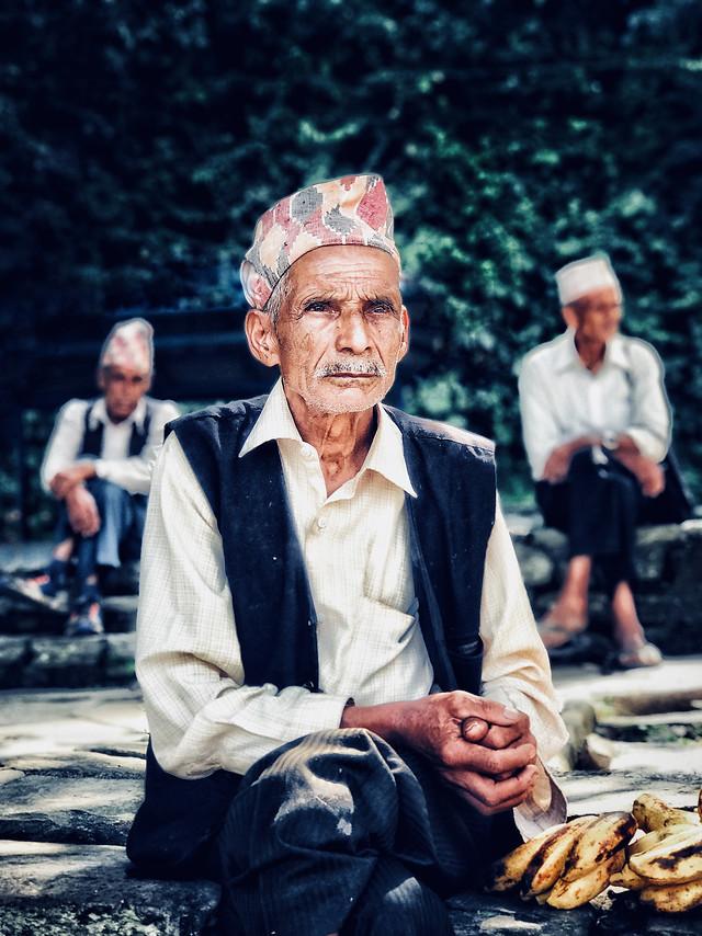 people-man-adult-elderly-portrait picture material