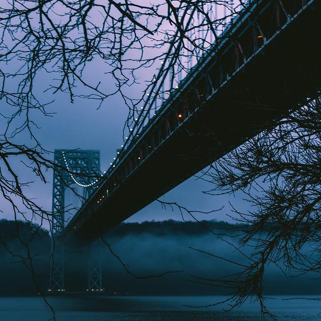 bridge-sky-no-person-winter-landscape picture material