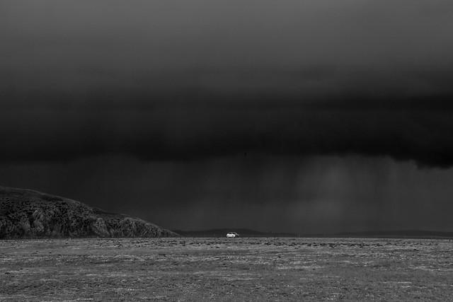 monochrome-fog-landscape-storm-water picture material