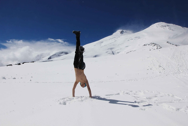 snow-mountain-winter-adventure-ice picture material