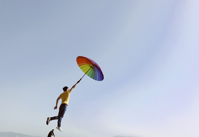 sky-fun-action-kite-flying picture material