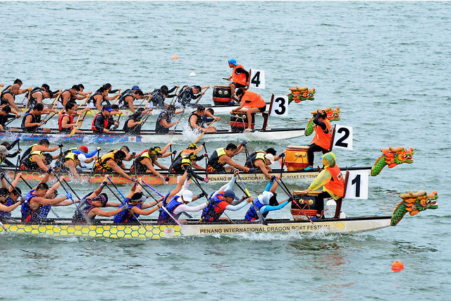 dragonboat picture material