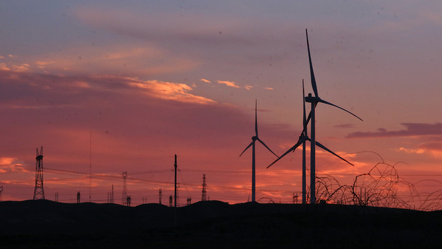 wind-turbine-sky-windmill-energy-wind picture material