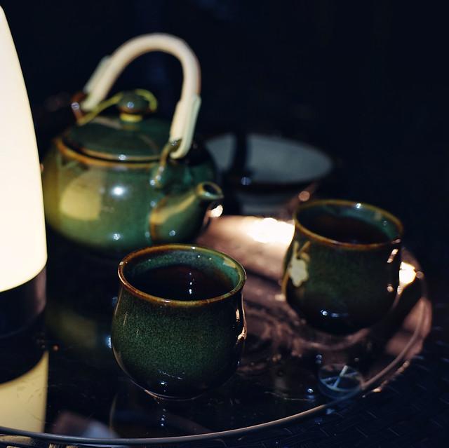 night-tea picture material