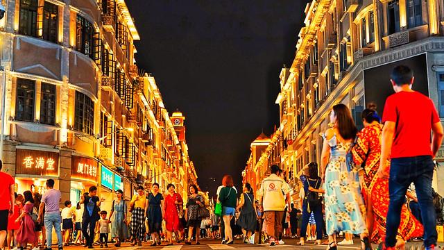 zhongshan-street-xiamen picture material