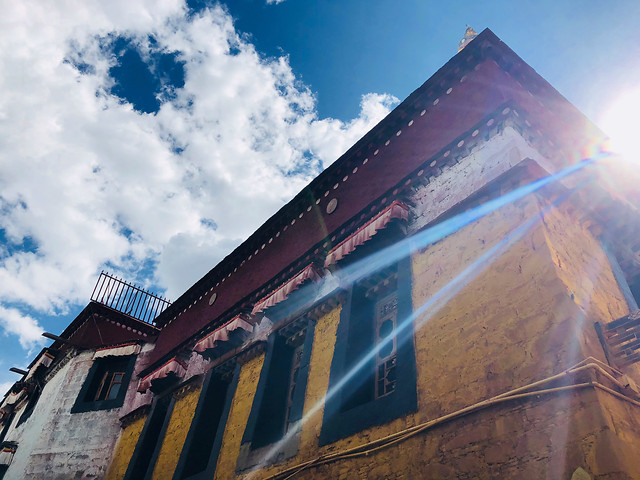 sky-architecture-building-#拉萨-#tibet picture material