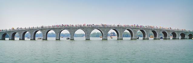 bridge-sky-water-sea-architecture picture material