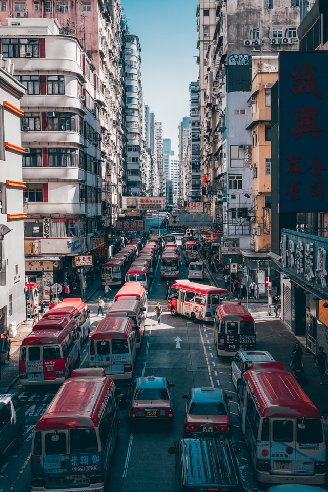 city-car-cityscape-downtown-traffic 图片素材