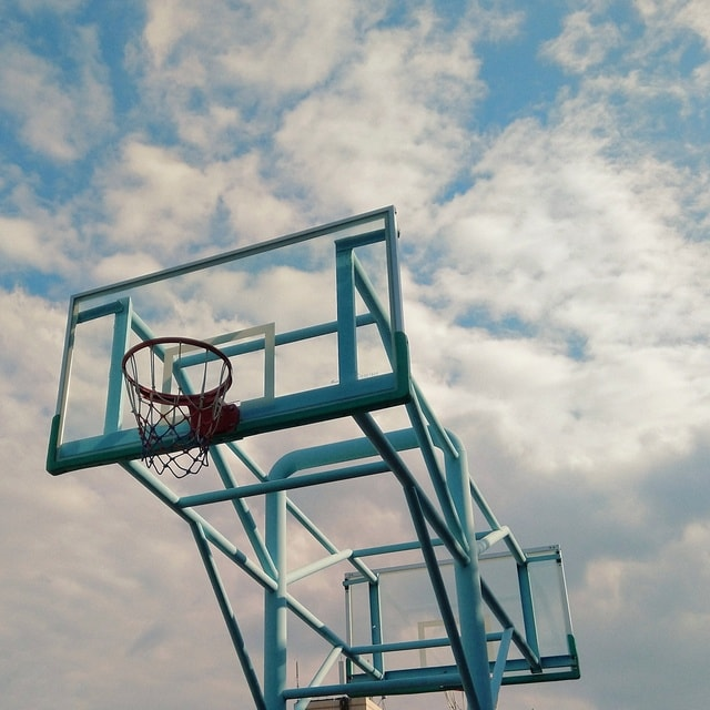 sky-the-weather-no-person-basketball-outdoors 图片素材