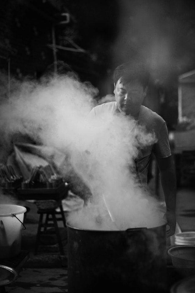 smoke-monochrome-master-people-concert picture material