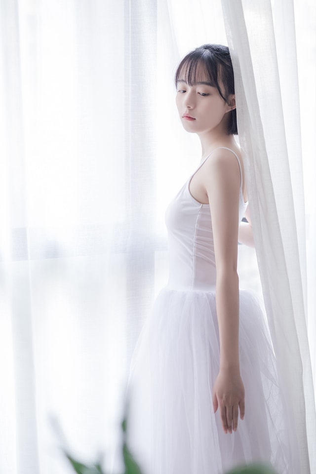 woman-bride-dress-girl-model picture material