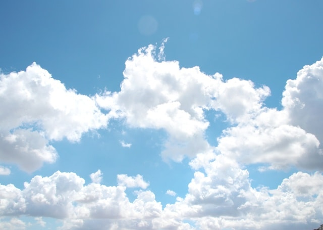 sky-cloud-atmosphere-nature-summer 图片素材