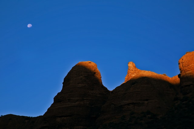 sky-rock-mountain-landscape-light-and-shadow picture material