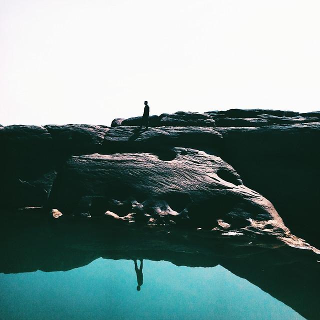 water-sea-sky-ocean-hiking picture material