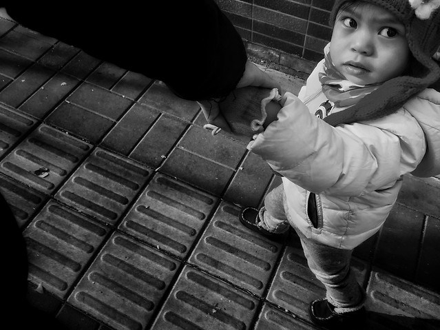 people-monochrome-one-child-black picture material