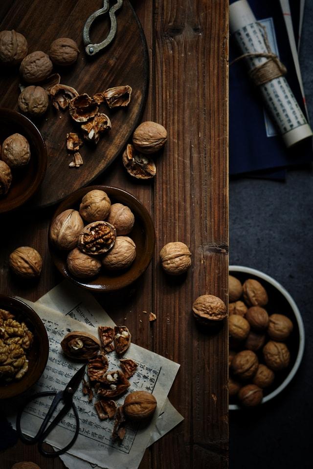 food-wood-chocolate-dark-tone-walnut picture material