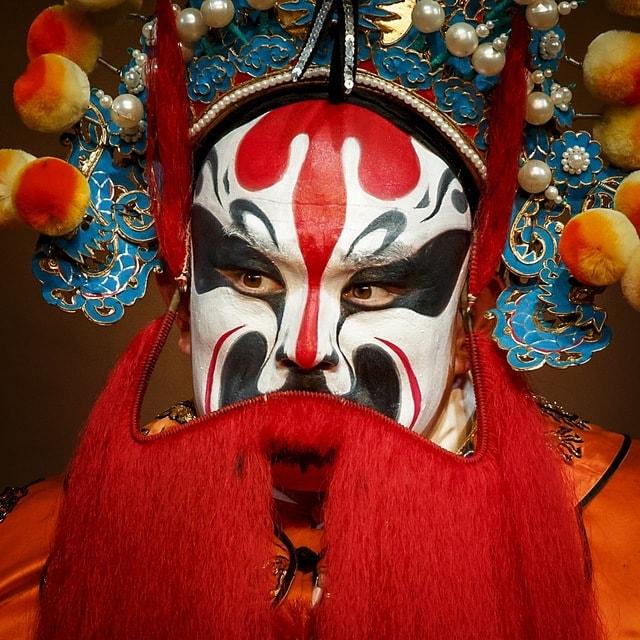 peking-opera picture material
