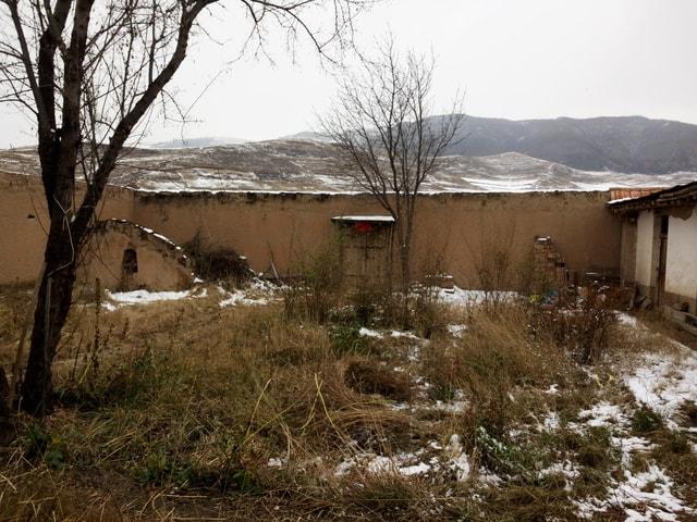 snow-winter-house-tree-hut 图片素材