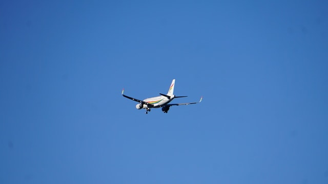 airplane-sky-aircraft-flight-airliner picture material