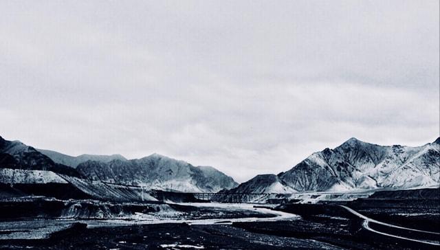 kunlun-mountains-mountain-sky-snow-arctic 图片素材