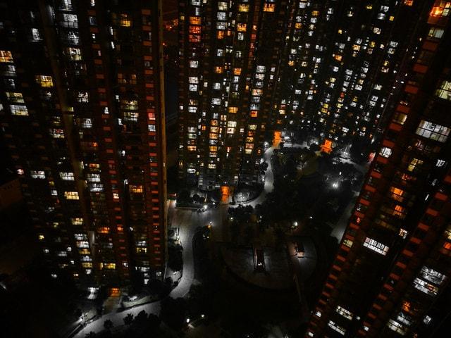 city-cityscape-skyscraper-community-lights picture material
