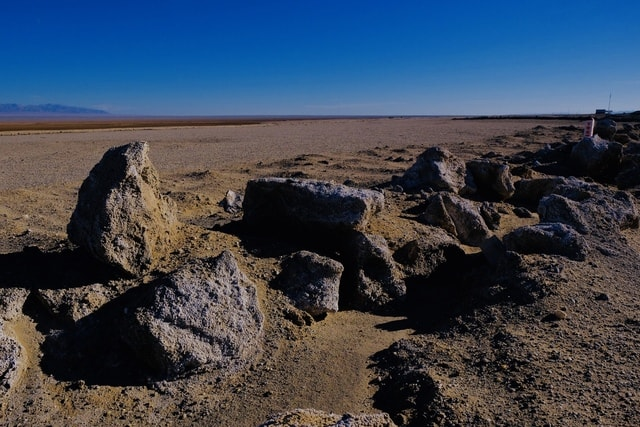 rock-badlands-sky-formation-shrubland picture material