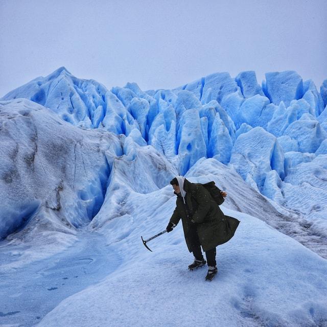 snow-ice-glacier-winter-mountain picture material