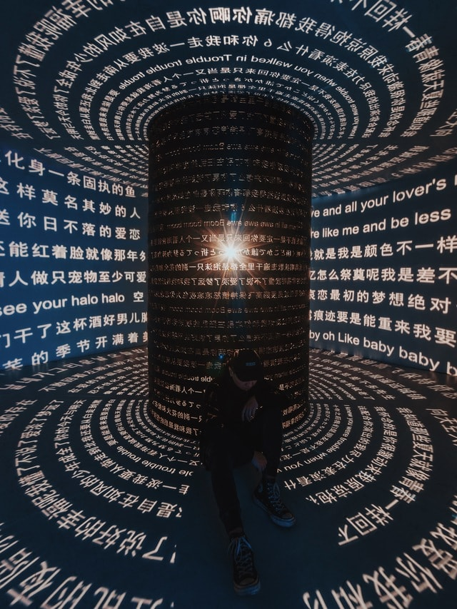 chinese-shadow-light-space-text picture material