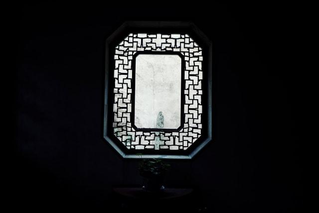 window-geisha-suzhou-font-computer-wallpaper picture material