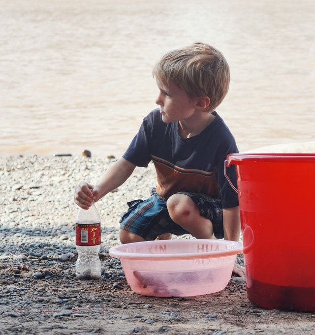 child-toddler-fun-portrait-boy picture material