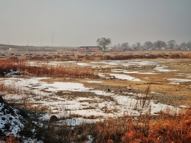 winter-snow-wetland-freezing-tundra picture material