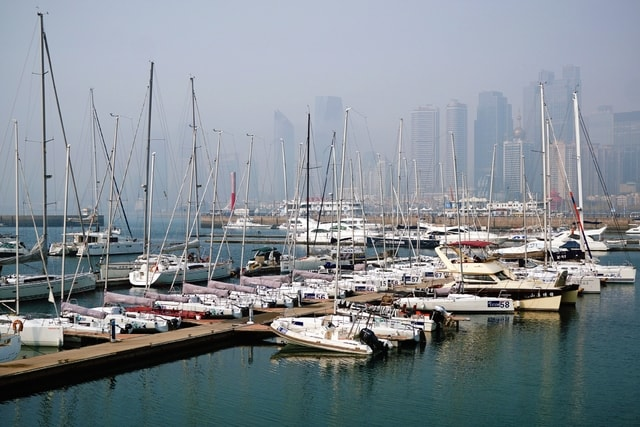 marina-harbor-boat-water-port picture material