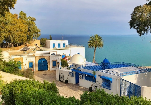 resort-house-sky-vacation-tunisia picture material
