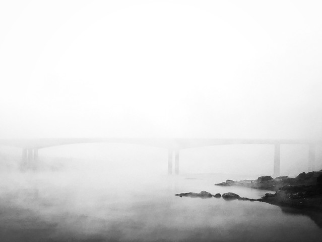 fog-mist-water-monochrome-no-person picture material