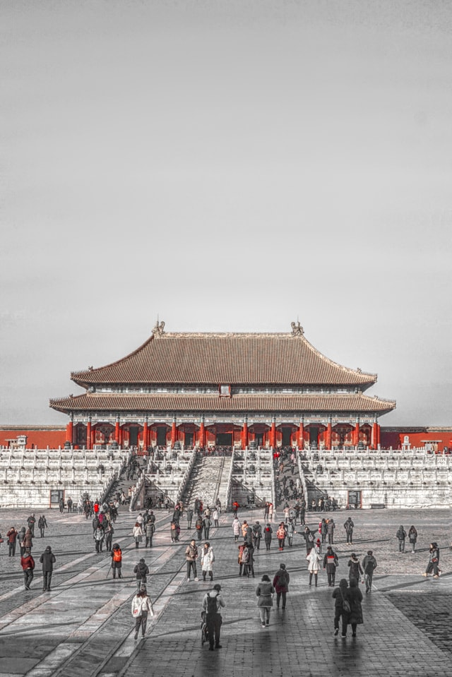 chinese-architecture-landmark-sky-structure-architecture picture material