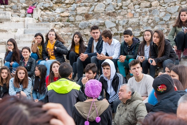 social-group-crowd-community-youth-interaction picture material