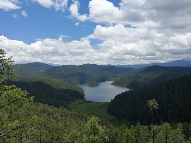 highland-nature-wilderness-sky-lake picture material