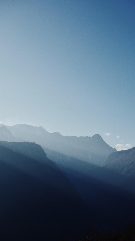 pure-sky-mountainous-landforms-mountain-range-ridge picture material